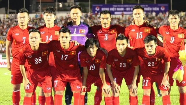 Đội tuyển Việt Nam sẽ có những thử nghiệm trước FC Seoul (ảnh: Trọng Vũ)
