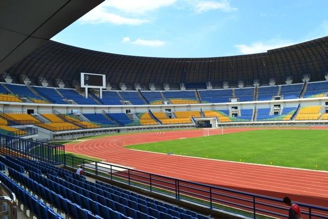 Sân Lautan Api ở Bandung có thể là nơi tổ chức trận bán kết lượt đi AFF Cup 2016