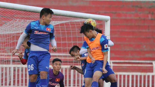 Đội tuyển Việt Nam hiện đang ở trạng thái tốt (ảnh: Trọng Vũ)