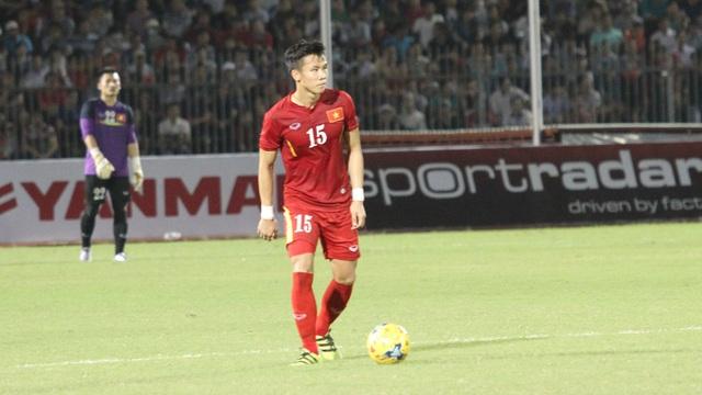 Quế Ngọc Hải giữ vai trò nào ở trận lượt về với Indonesia? (ảnh: Trọng Vũ)
