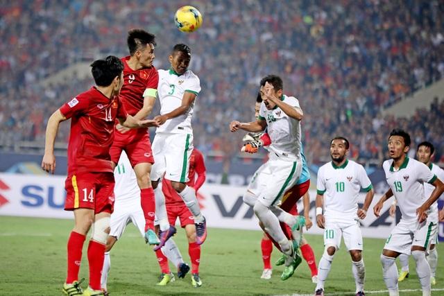 Đội tuyển Việt Nam quá kém ở khả năng không chiến (ảnh: Gia Hưng)