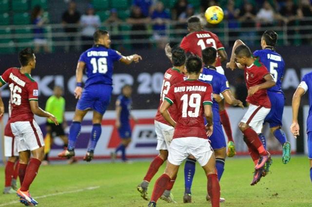Indonesia là đội duy nhất từng ghi bàn vào lưới Thái Lan ở AFF Cup năm nay
