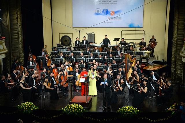 Hình ảnh tại buổi lễ khai mạc Festival âm nhạc mới Á- Âu.