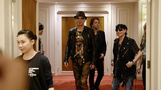 Ban nhạc rock huyền thoại Scorpions xuất hiện tại Hà Nội - 5
