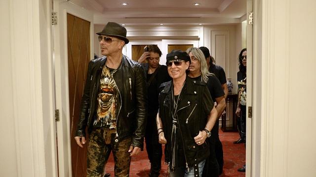 Ban nhạc rock huyền thoại Scorpions xuất hiện tại Hà Nội - 2