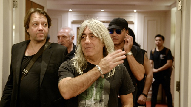 Ban nhạc rock huyền thoại Scorpions xuất hiện tại Hà Nội - 6