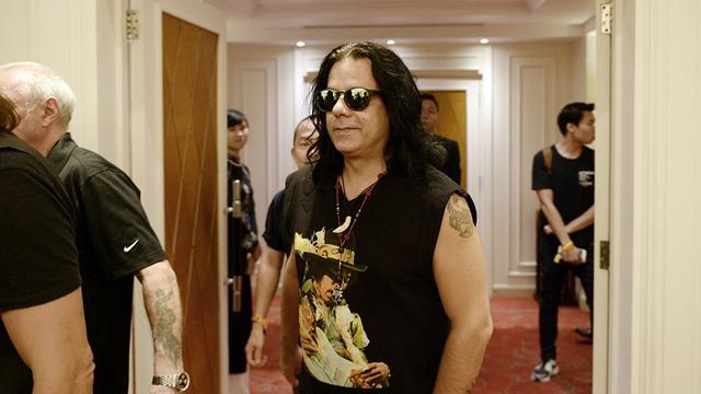 Ban nhạc rock huyền thoại Scorpions xuất hiện tại Hà Nội - 3