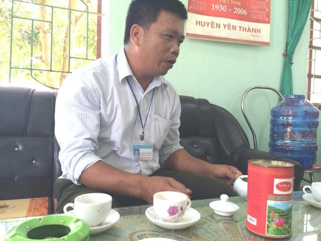 Ông Nguyễn Đức Bằng trưởng công an xã: Việc thu tiền là do UBND xã chỉ đạo.