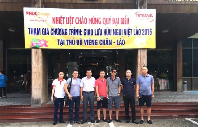 Chủ tịch Du lịch PhucGrou cùng lãnh đạo các đơn vị hàng đầu Việt Nam thành lập văn phòng vận chuyển Viên Chăn.
