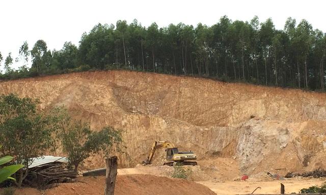 Tình trạng khai thác đất trái phép xảy ra địa bàn huyện Yên Thành thời gian qua mà báo Dân trí phản ánh là có cơ sở.
