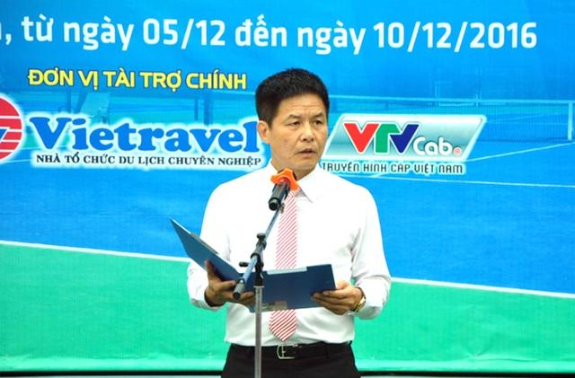 Ông Nguyễn Quốc Kỳ - PCT kiêm TTK Liên đoàn quần vợt Việt Nam