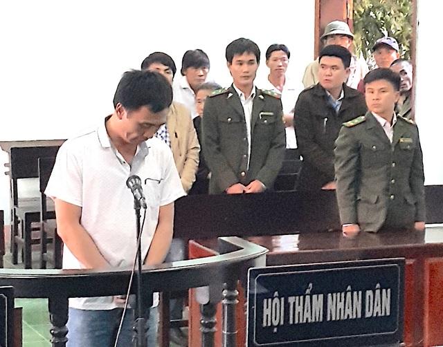 Bị cáo Hoàng Anh Tuấn tại phiên tòa xét xử chiều ngày 19/12. (Ảnh: C.T).