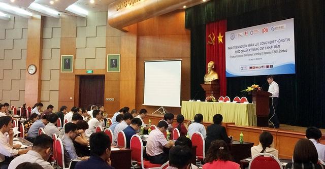 Thứ trưởng Bộ Khoa học và Công nghệ (KH&CN), ông Phạm Đại Dương nhấn mạnh, nguồn nhân lực CNTT có kỹ năng cao là rất cần thiết trong quá trình phát triển chung của đất nước Việt Nam.