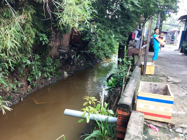 Kênh Hy Vọng là một trong 3 kênh đảm nhận thoát nước cho sân bay Tân Sơn Nhất