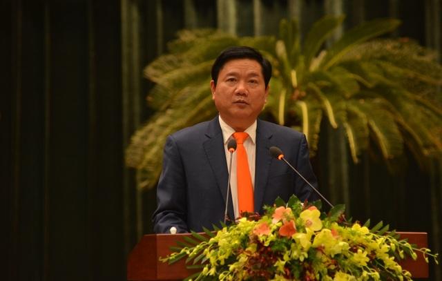 Bí thư Thành ủy TPHCM Đinh La Thăng cảm ơn kiều bào đã hiến kế cho TPHCM trên con đường phát triển và khẳng định tạo điều kiện thuận lợi cho kiều bào về nước đầu tư