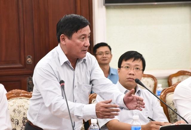 Giám đốc Trung tâm chống ngập TPHCM Nguyễn Ngọc Công