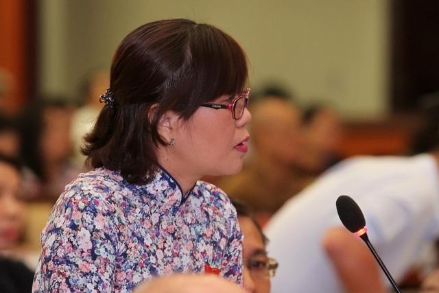 Đại biểu Nguyễn Thị Tố Trâm bức xúc về nạn xe dù, bến cóc