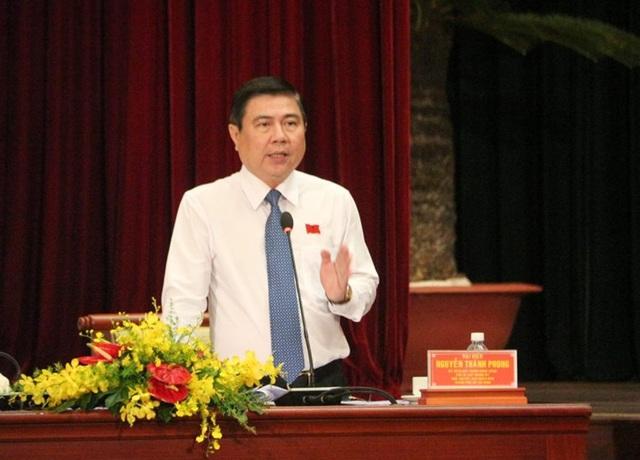 Chủ tịch UBND TPHCM Nguyễn Thành Phong (Ảnh: Q.A)