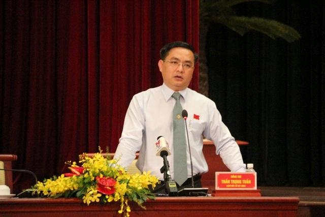 Giám đốc Sở Xây dựng TPHCM Trần Trọng Tuấn