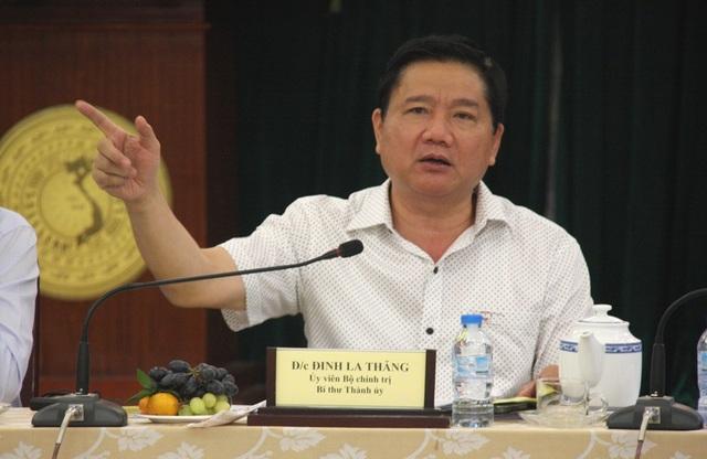 Bí thư Thành ủy TPHCM Đinh La Thăng