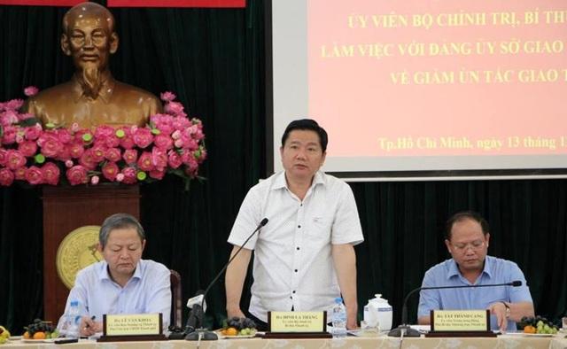 Bí thư Thành ủy TPHCM Đinh La Thăng (ảnh N.C)