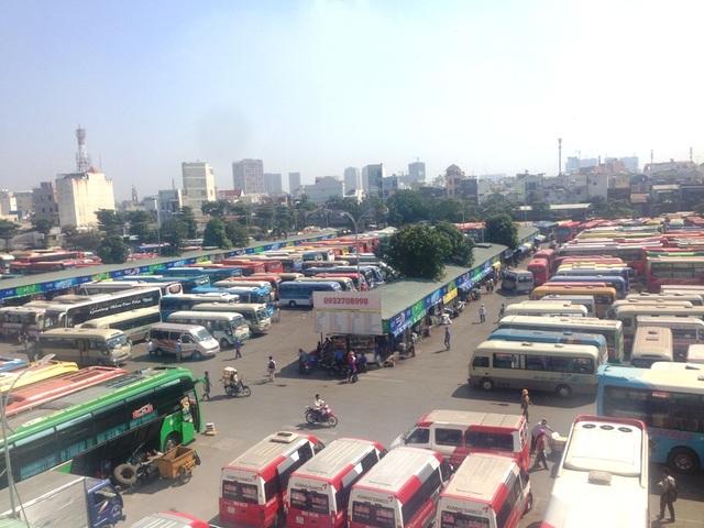 Sở GTVT TPHCM khẳng định đảm bảo đủ xe đưa hành khách về quê ăn tết