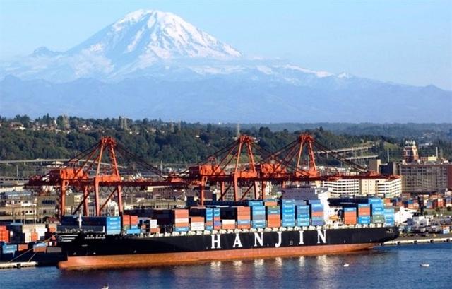 Hãng vận tải lớn khổng lồ Hanjin tuyên bố phá sản đã gây ra những xáo trộn nhất định trong hoạt động vận tải quốc tế.