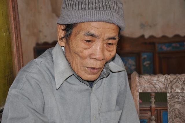 Ông bà già yếu không biết nhắm mắt lúc nào nên rất lo lắng cho cháu ngoại.