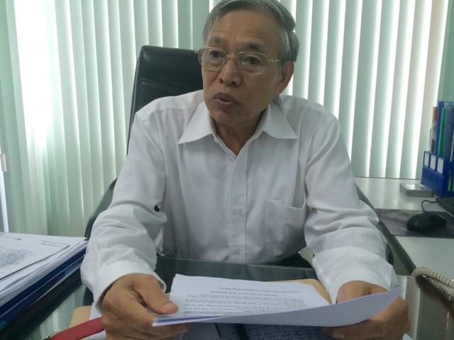 Ông Nguyễn Mạnh Hùng trao đổi với báo chí chiều 7/9 (Ảnh: Thế Kha)