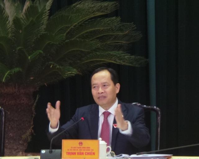 Bí thư Tỉnh ủy Thanh Hóa Trịnh Văn Chiến.