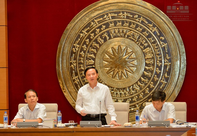 Chủ nhiệm Ủy ban Pháp luật của Quốc hội Nguyễn Khắc Định (Ảnh: Quochoi.vn).