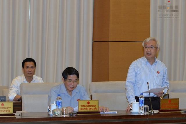 Ông Phan Thanh Bình - Chủ nhiệm Ủy ban Văn hóa, Giáo dục, Thanh niên, Thiếu niên và Nhi đồng của Quốc hội (Ảnh: Quochoi.vn)