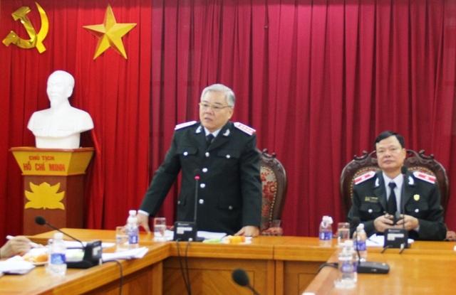 Tổng Thanh tra Chính phủ Phan Văn Sáu chỉ đạo tại hội nghị (Ảnh: TTCP)