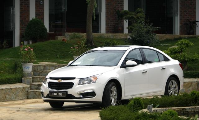 Chevrolet Cruze - Cú hích của GM - 1