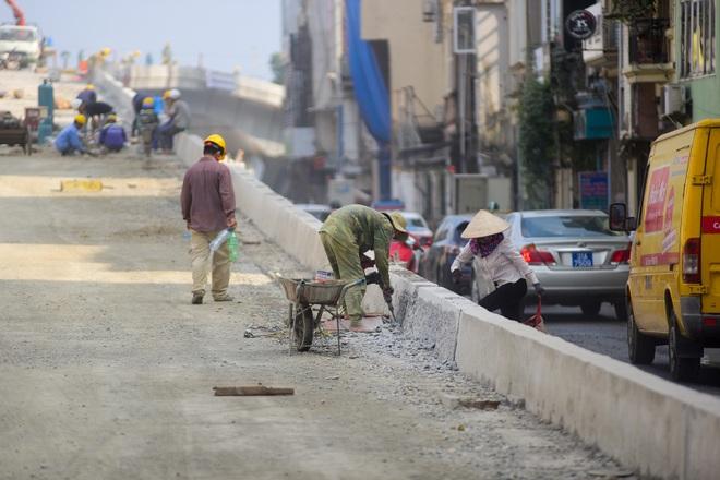 Hà Nội: Toàn cảnh dự án cầu vượt An Dương sau hơn một năm thi công - 6