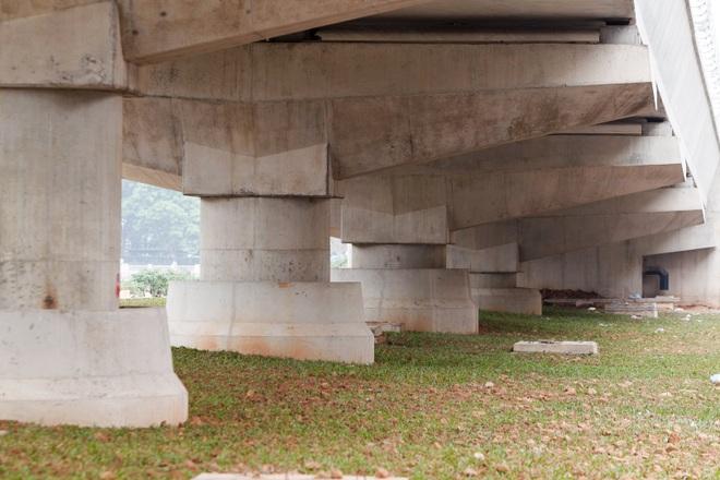 Metro Nhổn - ga Hà Nội thành hình đường trên cao xuyên qua phố phường Thủ đô - 10