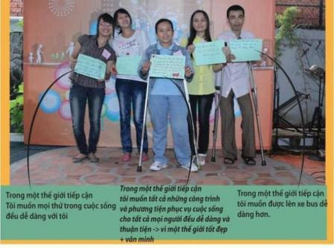 """Chung tay """"vẽ"""" bản đồ cho người khuyết tật bước ra xã hội! - 27"""