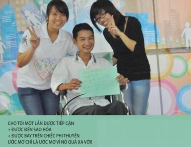 """Chung tay """"vẽ"""" bản đồ cho người khuyết tật bước ra xã hội! - 28"""