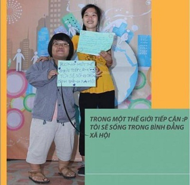 """Chung tay """"vẽ"""" bản đồ cho người khuyết tật bước ra xã hội! - 30"""