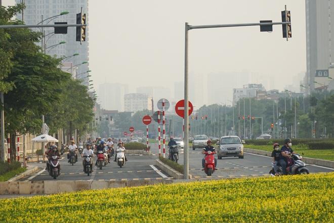 Toàn cảnh tuyến đường 8 làn kết nối 3 quận ở Hà Nội - 8