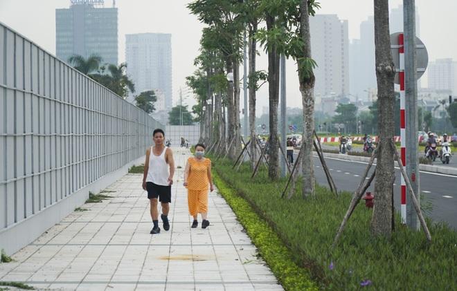 Toàn cảnh tuyến đường 8 làn kết nối 3 quận ở Hà Nội - 13