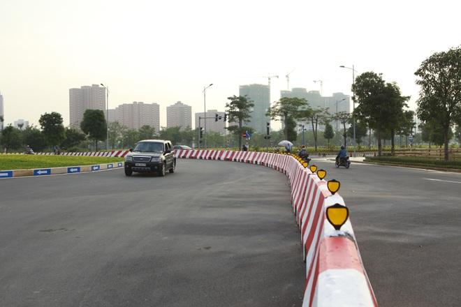 Toàn cảnh tuyến đường 8 làn kết nối 3 quận ở Hà Nội - 10