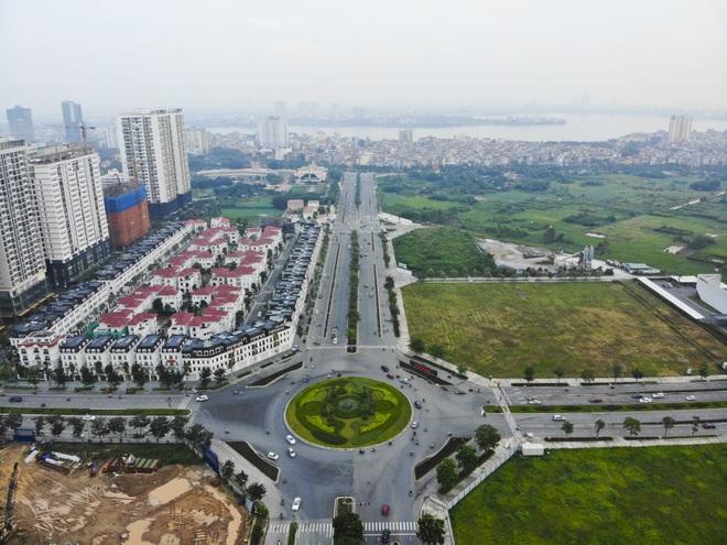 Toàn cảnh tuyến đường 8 làn kết nối 3 quận ở Hà Nội - 3