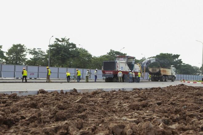 Hà Nội: Bắt đầu rào chắn thêm nhiều tuyến phố để thi công đường đua F1 - 13