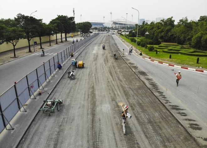 Hà Nội: Bắt đầu rào chắn thêm nhiều tuyến phố để thi công đường đua F1 - 2