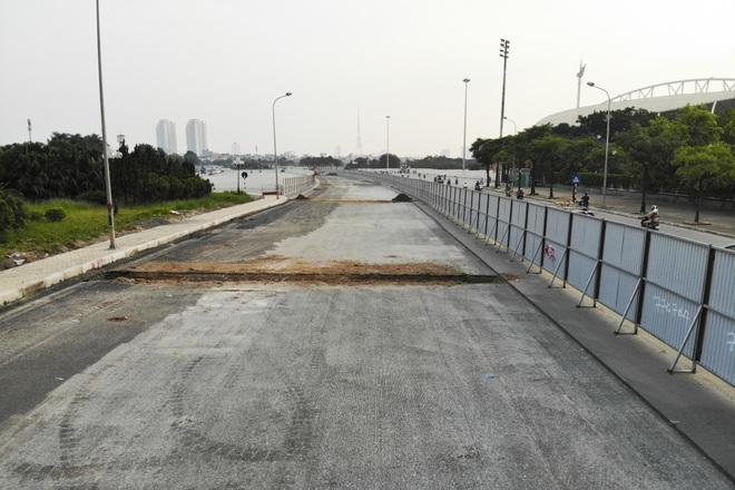 Hà Nội: Bắt đầu rào chắn thêm nhiều tuyến phố để thi công đường đua F1 - 12