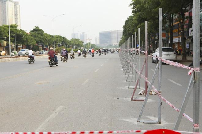 Hà Nội: Bắt đầu rào chắn thêm nhiều tuyến phố để thi công đường đua F1 - 5