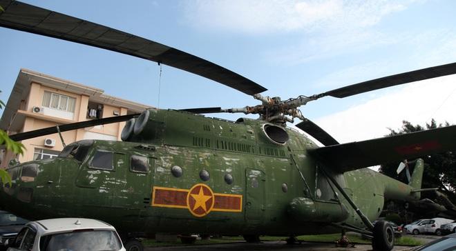 Cận cảnh trực thăng khổng lồ huyền thoại của Không quân Việt Nam - 12