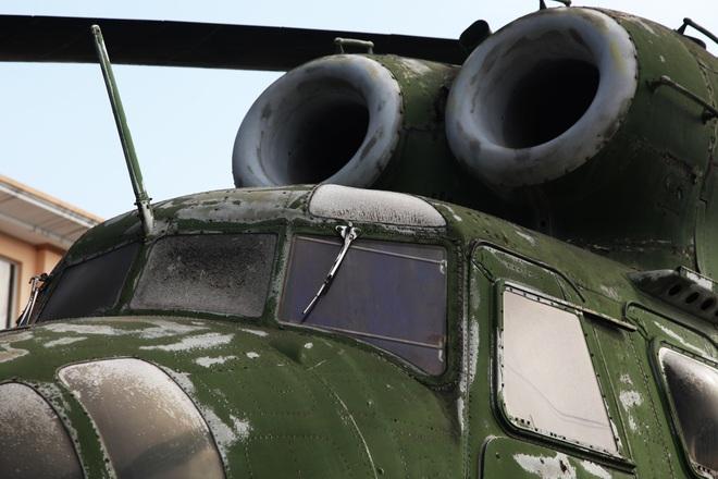 Cận cảnh trực thăng khổng lồ huyền thoại của Không quân Việt Nam - 4