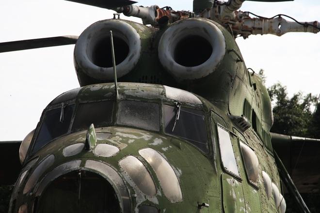 Cận cảnh trực thăng khổng lồ huyền thoại của Không quân Việt Nam - 3